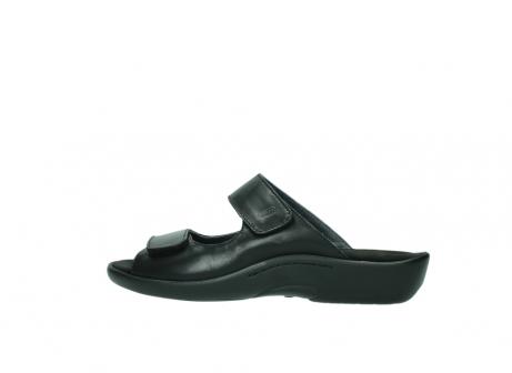 wolky slippers 1301 nepeta 300 zwart leer_2