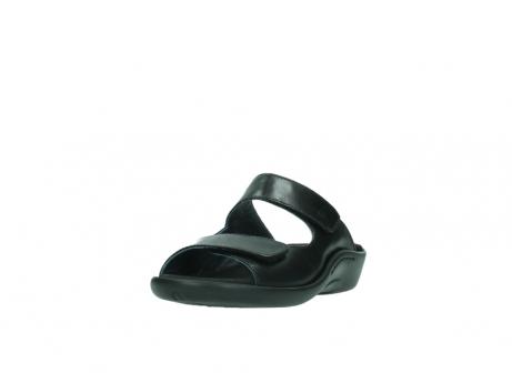 wolky slippers 1301 nepeta 300 zwart leer_21
