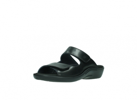 wolky slippers 1301 nepeta 300 zwart leer_22