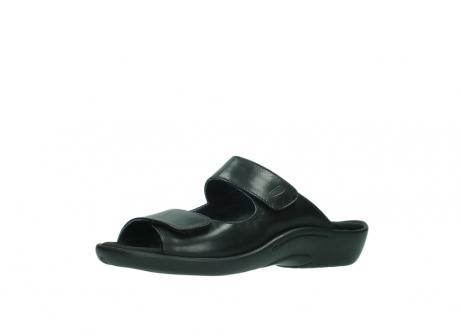wolky slippers 1301 nepeta 300 zwart leer_23