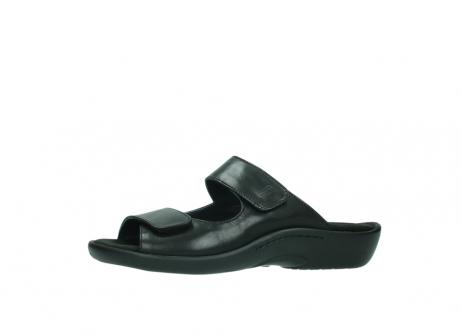 wolky slippers 1301 nepeta 300 zwart leer_24