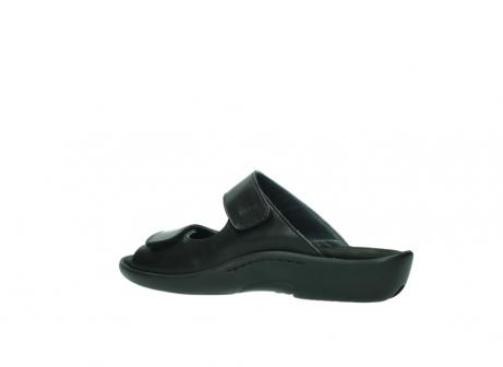 wolky slippers 1301 nepeta 300 zwart leer_3