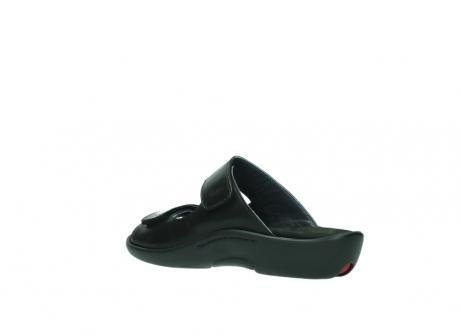 wolky slippers 1301 nepeta 300 zwart leer_4