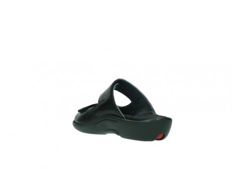 wolky slippers 1301 nepeta 300 zwart leer_5