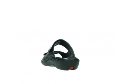 wolky slippers 1301 nepeta 300 zwart leer_6