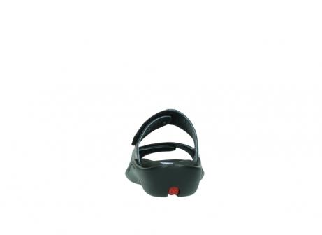 wolky slippers 1301 nepeta 300 zwart leer_7