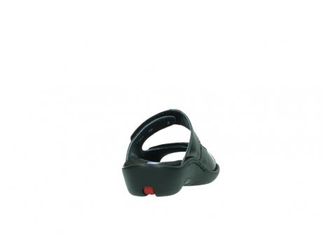 wolky slippers 1301 nepeta 300 zwart leer_8