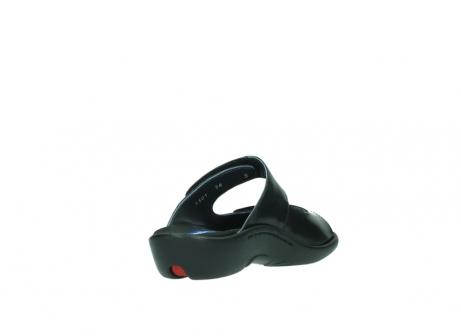wolky slippers 1301 nepeta 300 zwart leer_9