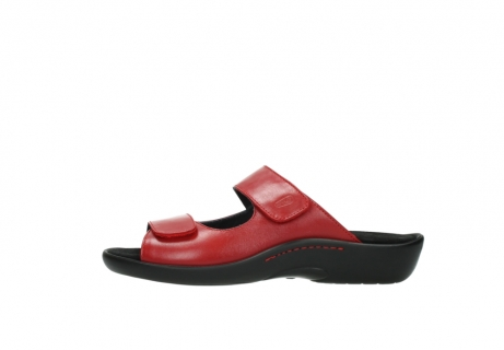 wolky slippers 1301 nepeta 350 rood leer_1