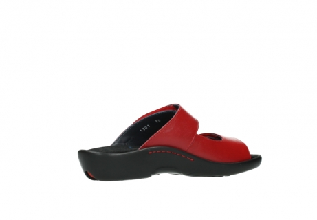 wolky slippers 1301 nepeta 350 rood leer_11