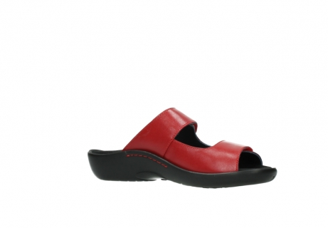 wolky slippers 1301 nepeta 350 rood leer_15