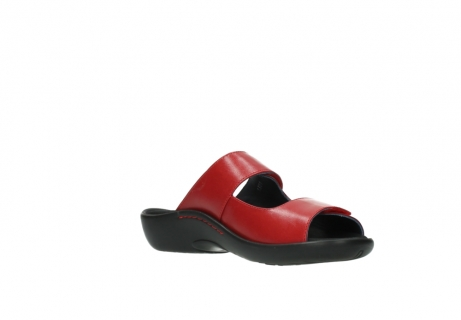 wolky slippers 1301 nepeta 350 rood leer_16