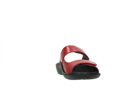 wolky slippers 1301 nepeta 350 rood leer_18