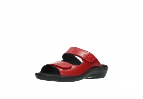 wolky slippers 1301 nepeta 350 rood leer_22