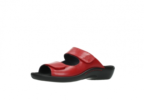 wolky slippers 1301 nepeta 350 rood leer_23