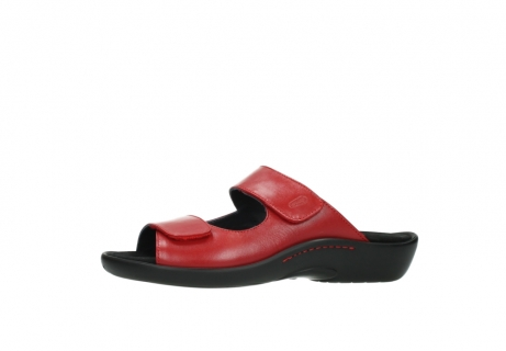 wolky slippers 1301 nepeta 350 rood leer_24
