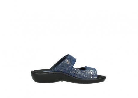 wolky slippers 1301 nepeta 680 blauw slangenprint leer_13