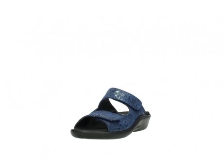 wolky slippers 1301 nepeta 680 blauw slangenprint leer_21