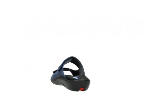 wolky slippers 1301 nepeta 680 blauw slangenprint leer_6