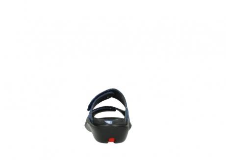 wolky slippers 1301 nepeta 680 blauw slangenprint leer_7