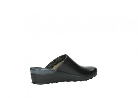 wolky slippers 2575 go 200 zwart leer_11