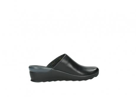 wolky slippers 2575 go 200 zwart leer_12