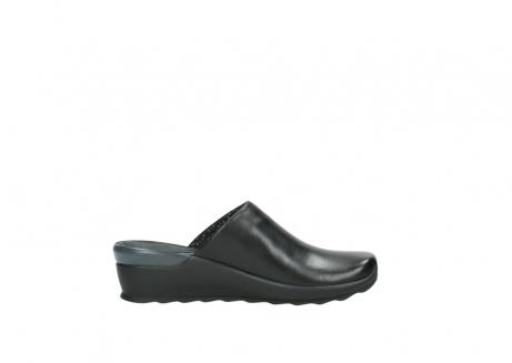 wolky slippers 2575 go 200 zwart leer_13