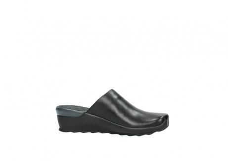 wolky slippers 2575 go 200 zwart leer_14