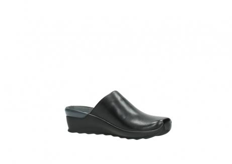 wolky slippers 2575 go 200 zwart leer_15