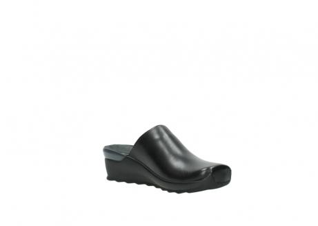 wolky slippers 2575 go 200 zwart leer_16