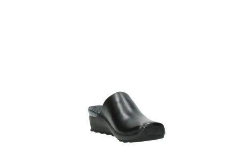 wolky slippers 2575 go 200 zwart leer_17