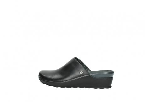 wolky slippers 2575 go 200 zwart leer_2