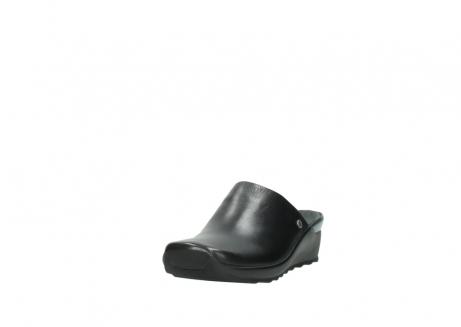 wolky slippers 2575 go 200 zwart leer_21
