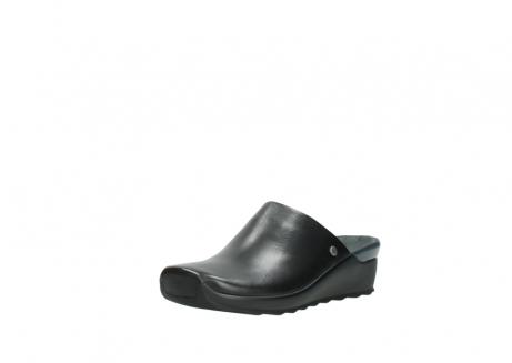 wolky slippers 2575 go 200 zwart leer_22