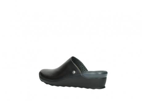 wolky slippers 2575 go 200 zwart leer_3