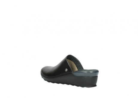 wolky slippers 2575 go 200 zwart leer_4