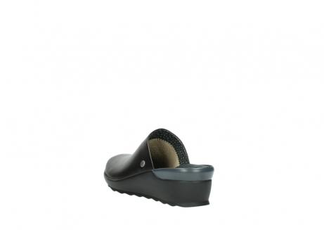 wolky slippers 2575 go 200 zwart leer_5