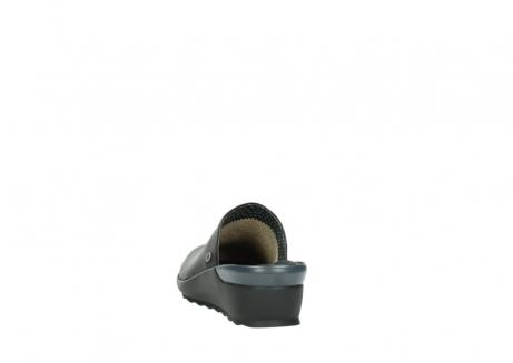 wolky slippers 2575 go 200 zwart leer_6