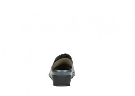 wolky slippers 2575 go 200 zwart leer_7