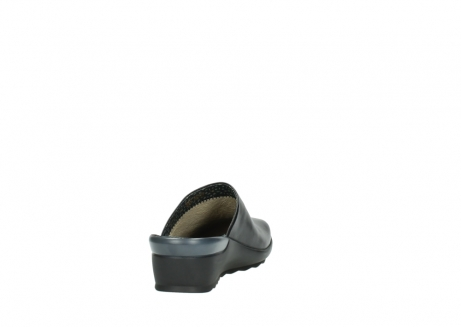 wolky slippers 2575 go 200 zwart leer_8