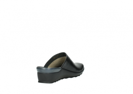 wolky slippers 2575 go 200 zwart leer_9