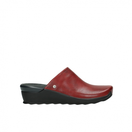wolky slippers 2575 go 250 rood leer