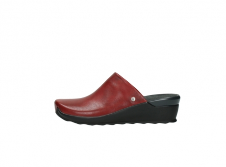 wolky slippers 2575 go 250 rood leer_1