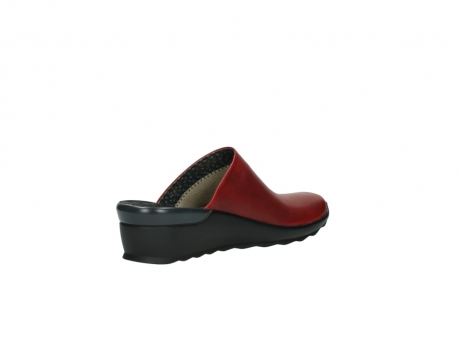 wolky slippers 2575 go 250 rood leer_10