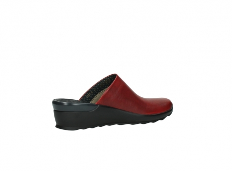 wolky slippers 2575 go 250 rood leer_11