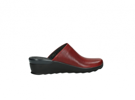 wolky slippers 2575 go 250 rood leer_12