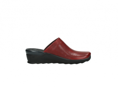wolky slippers 2575 go 250 rood leer_13