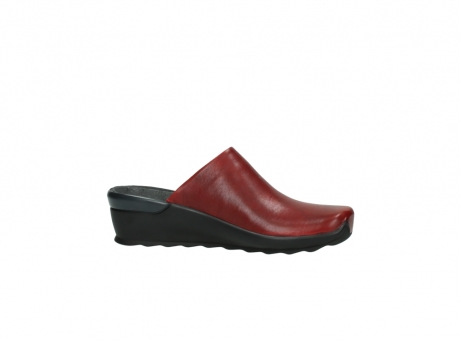 wolky slippers 2575 go 250 rood leer_14