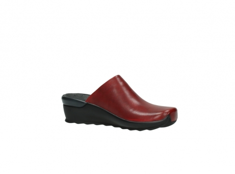 wolky slippers 2575 go 250 rood leer_15