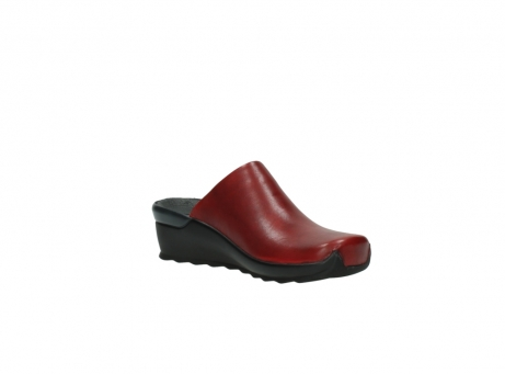 wolky slippers 2575 go 250 rood leer_16